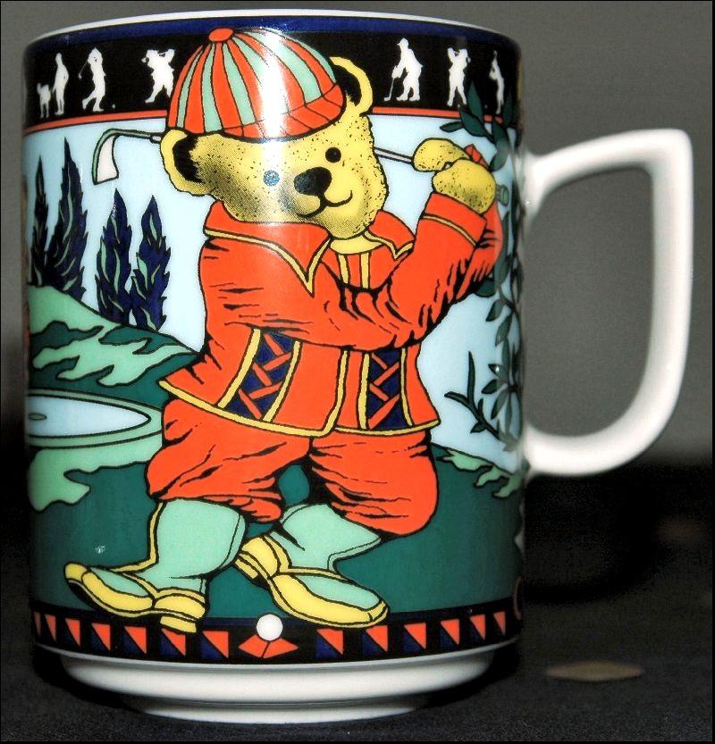 GOLF-BOPLA-Porzellan-MAXITASSE-Mug-Maxicup-Becher